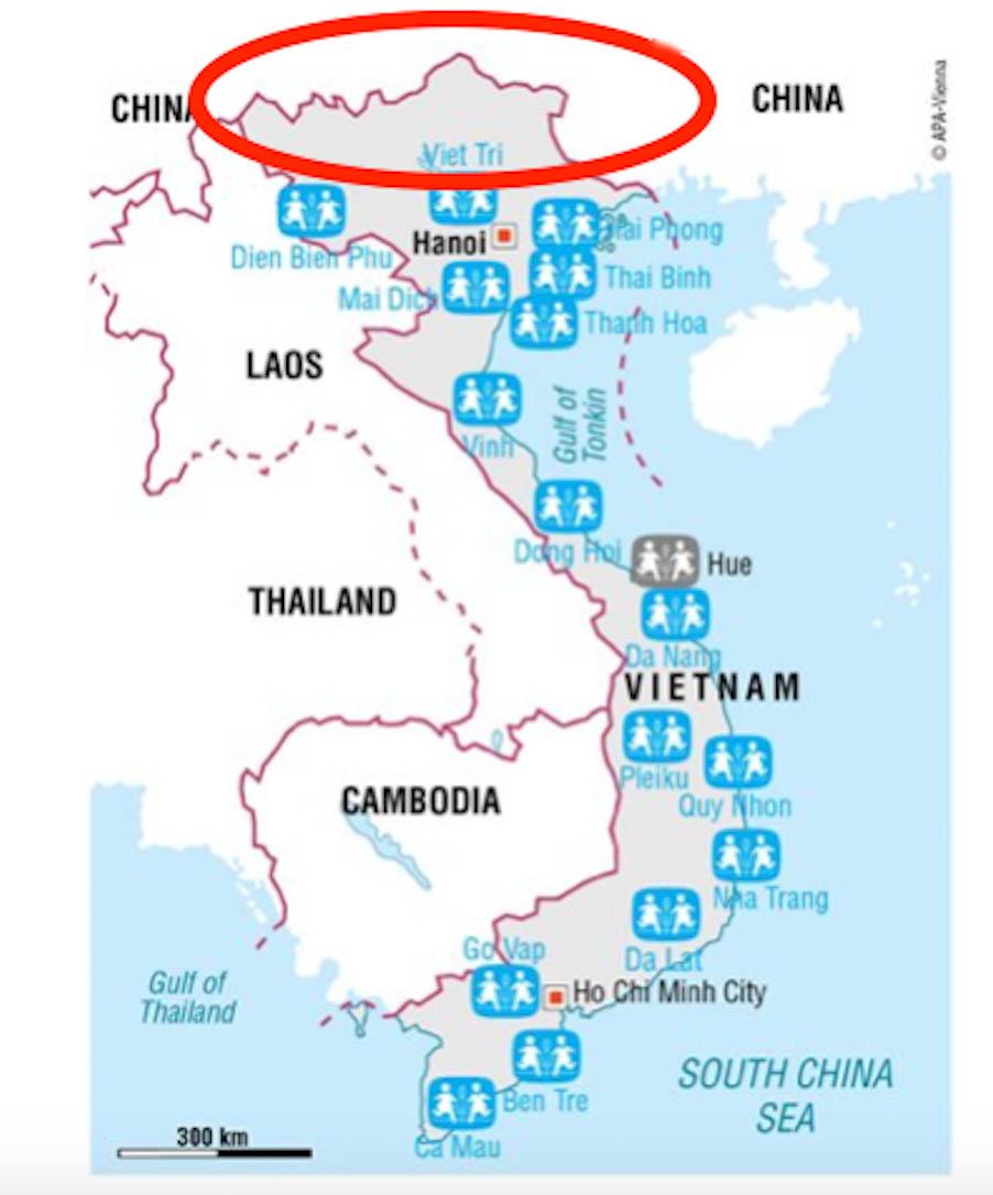 Karte Loan Sos Vietnam Loan Stiftung Bildung Fur Kinder In Vietnam